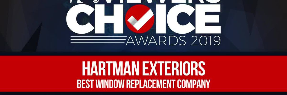 VIEWERS CHOICE AWARDS: Hartman Exteriors wins Best Window Replacement Company