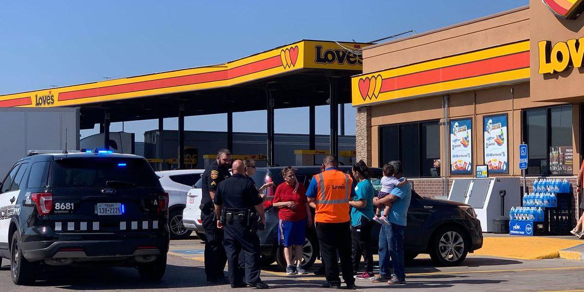 Policía de Amarillo identifica a un hombre arrestado por robar un automóvil con un niño adentro