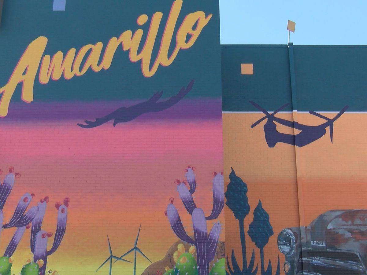 Movimiento creciente de arte inspira la creación de más murales a lo largo de Amarillo