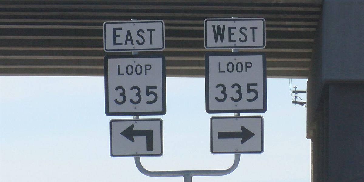 El límite de velocidad cambió de 70 a 60 millas en una parte de la Loop 335
