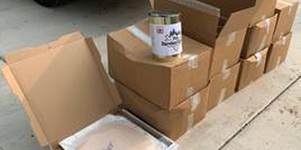 Patrullero encuentra casi 850 libras de productos de THC durante una parada de tráfico en el condado Oldham