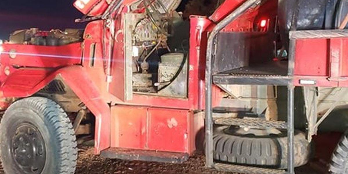 Bombero del condado Motley resulta herido después de responder a incendio