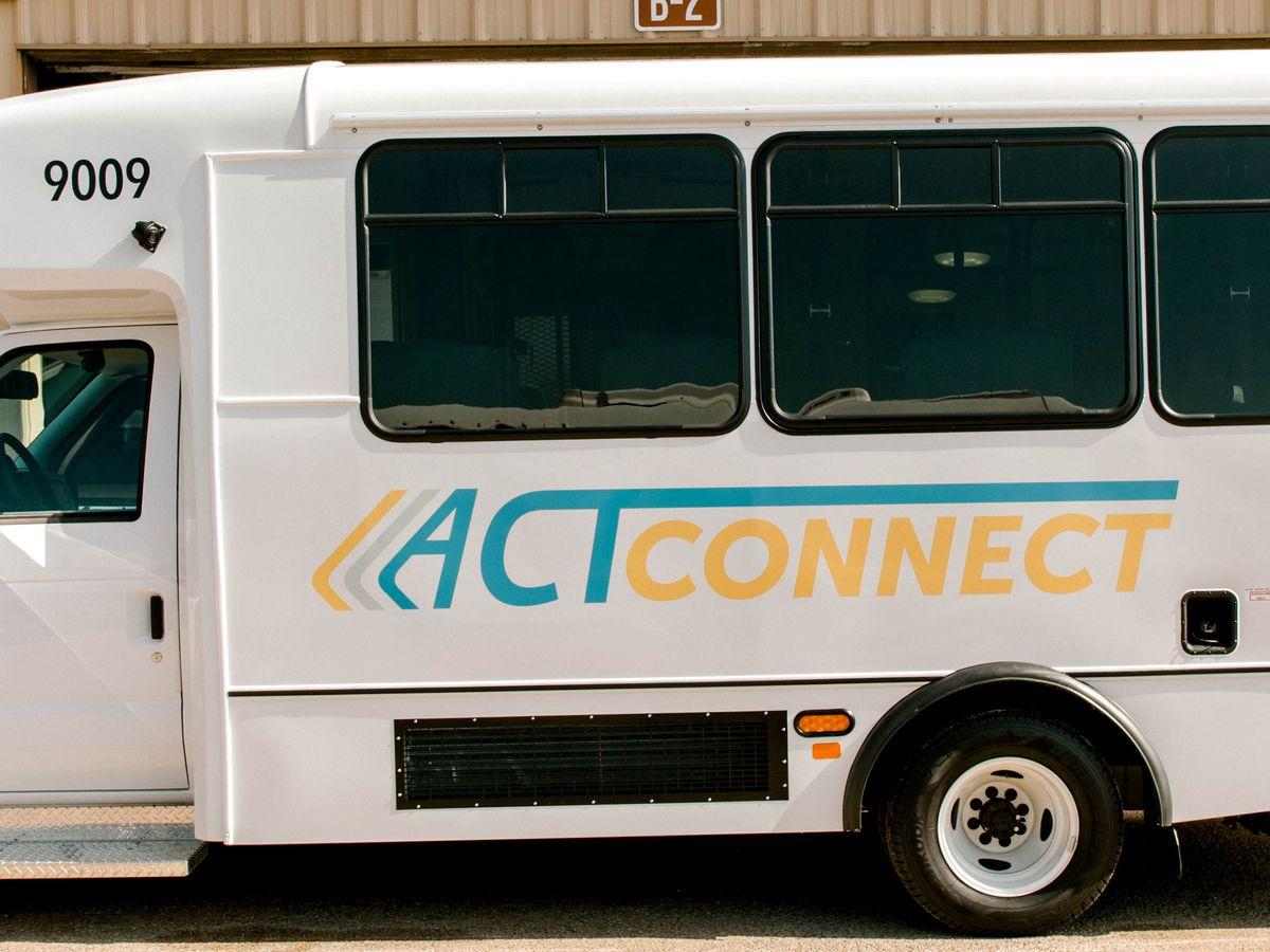 """Tránsito de la Ciudad de Amarillo estrena nueva flota llamada """"ACT-Connect"""""""