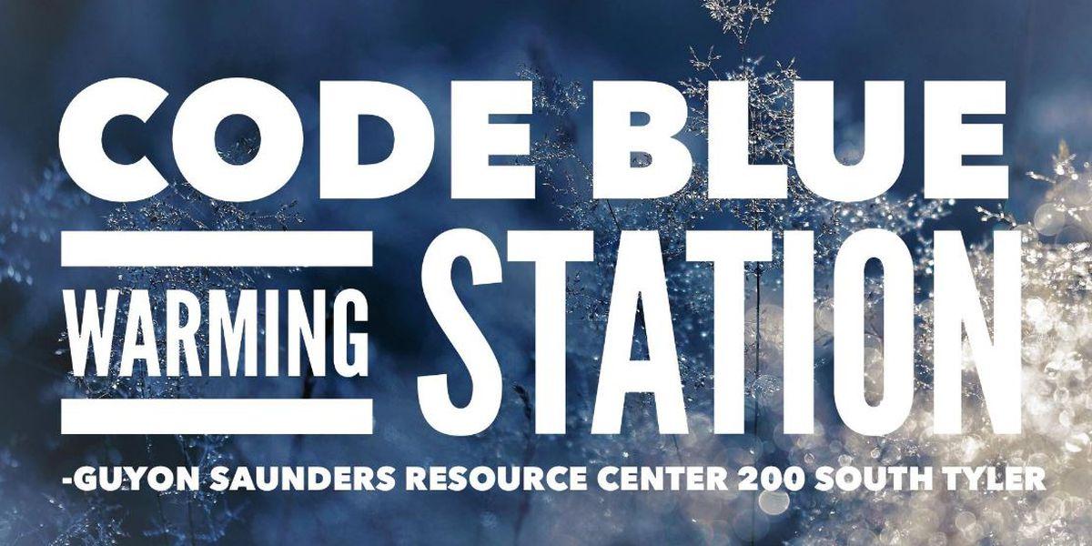 Estación de calentamiento de la zona abierta esta noche para aquellos en necesidad de refugio