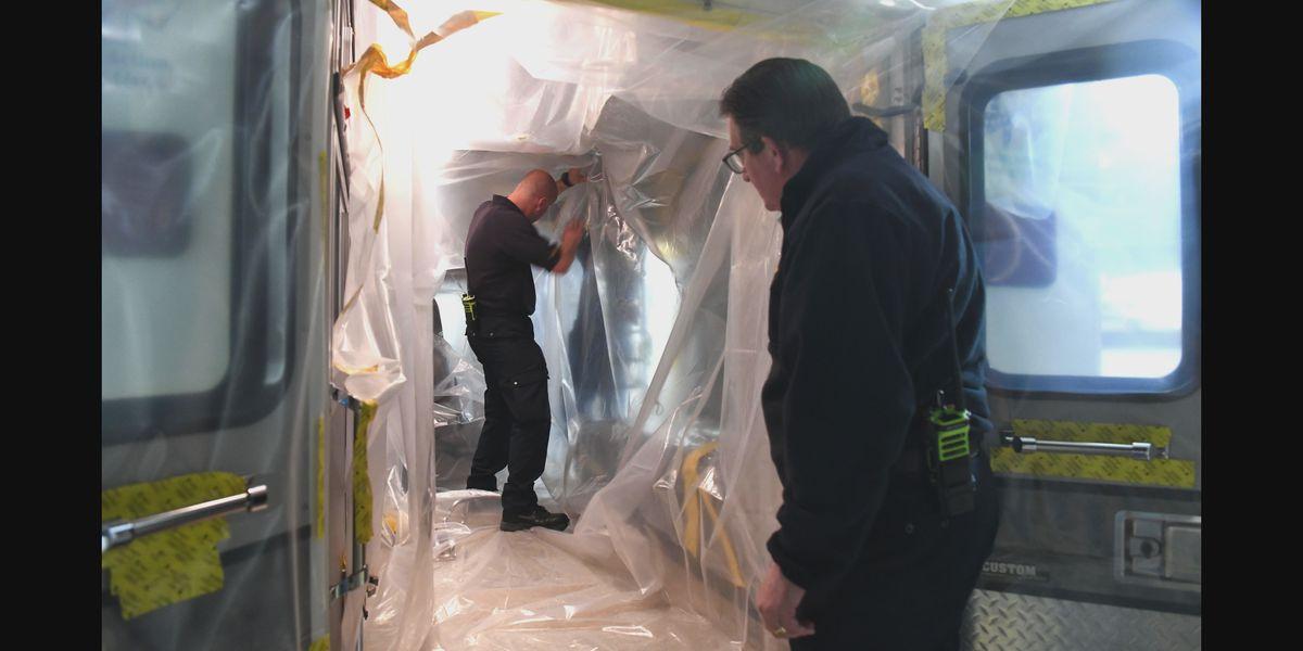 Departamentos de bomberos de Pantex y Potter utilizando nuevas precauciones de COVID-19 a medida que aumentan los casos en la comunidad