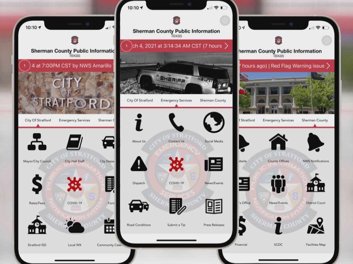 Nueva aplicación ayuda a informar a la comunidad rural de importantes acontecimientos inmediatos en el área