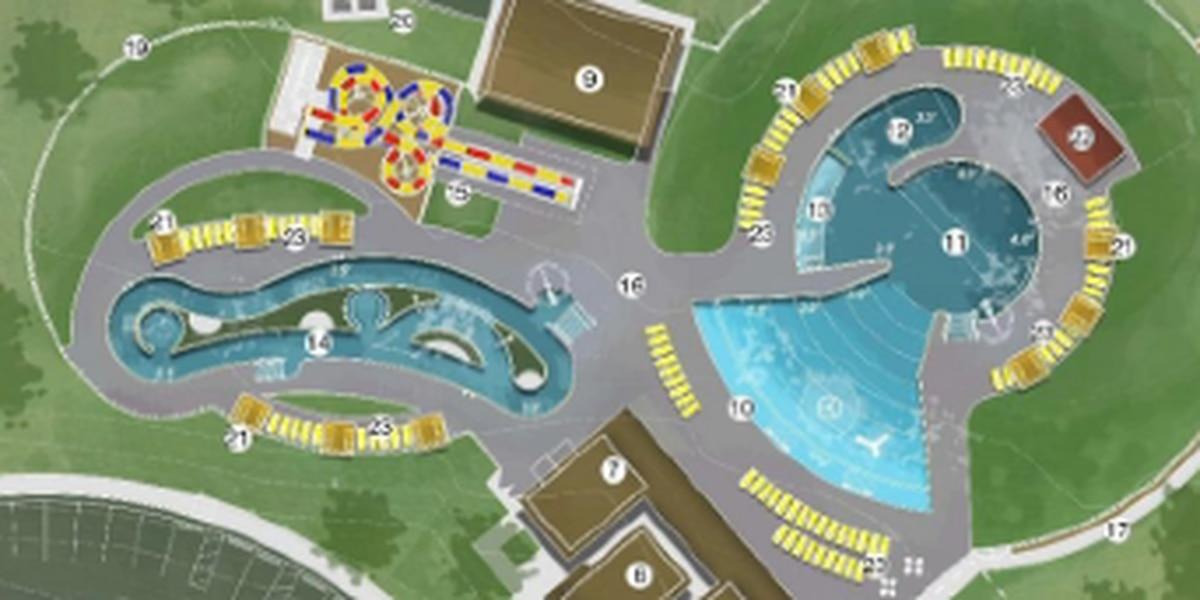 La piscina del parque Thompson está programada para abrir el Día de los Caídos con elementos únicos