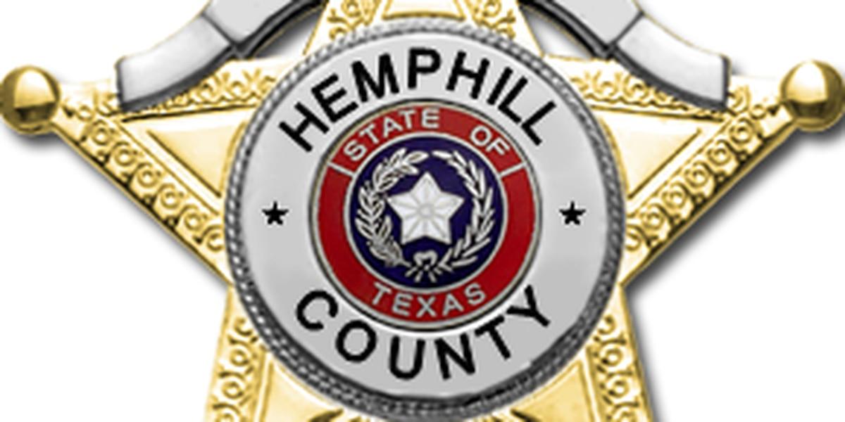 Patrulleros de Texas investigando sheriff del condado Hemphill