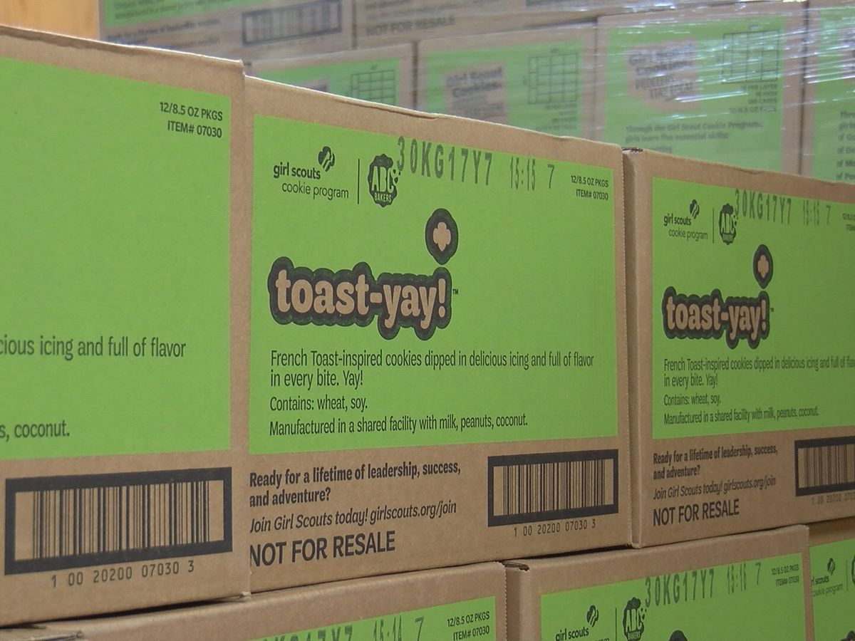 "Comienza la temporada de Girl Scout Cookie, con la nueva galleta ""Toast-Yay"""