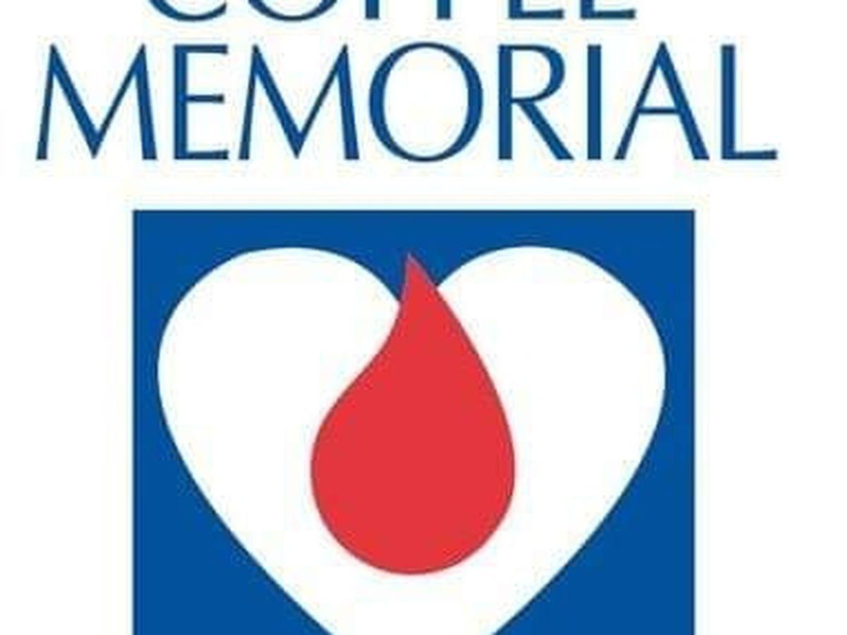 Evento de recaudación de sangre mañana en centro de sangre Coffee Memorial