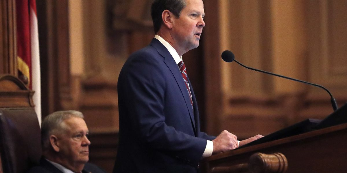 Georgia's Republican Gov. Kemp signs early abortion ban