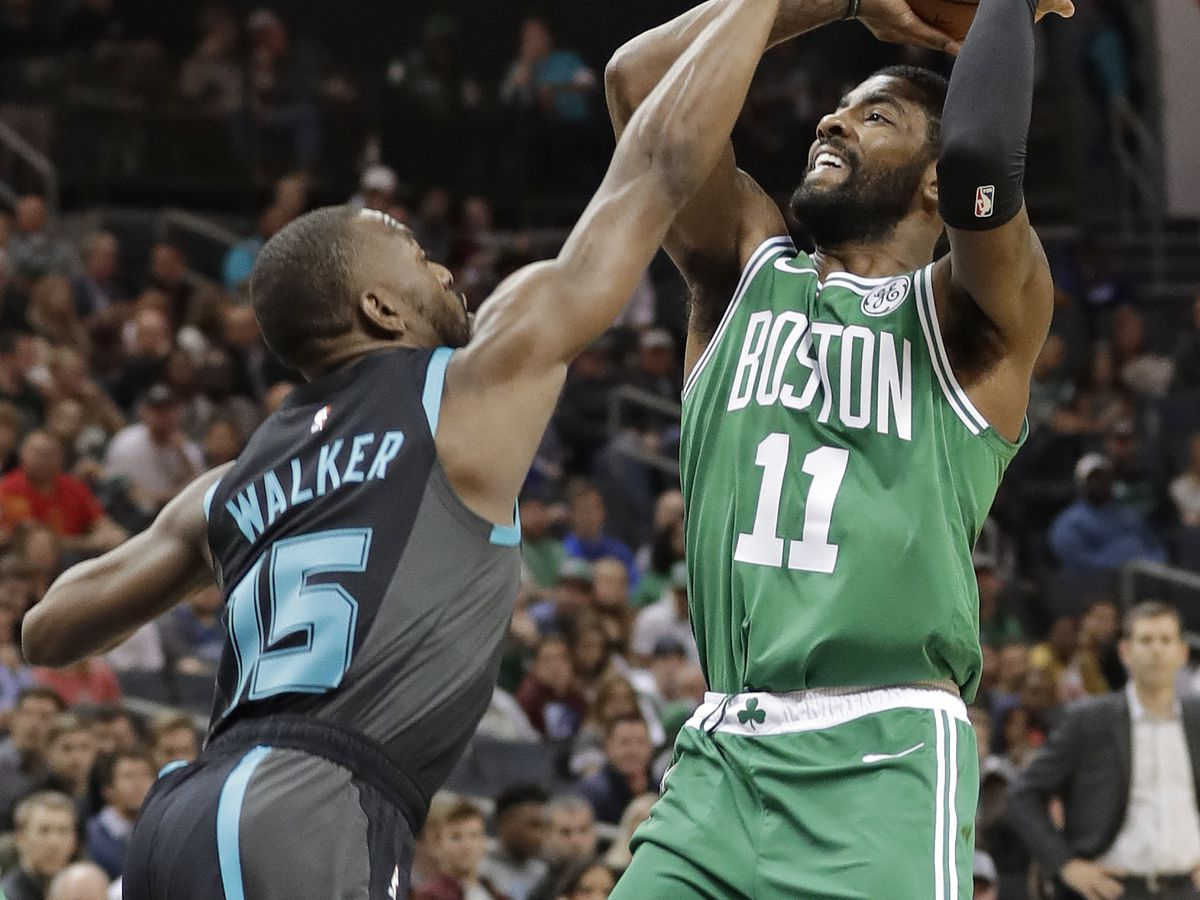 Walker new NBA scoring leader, Hornets top Celtics 117-112
