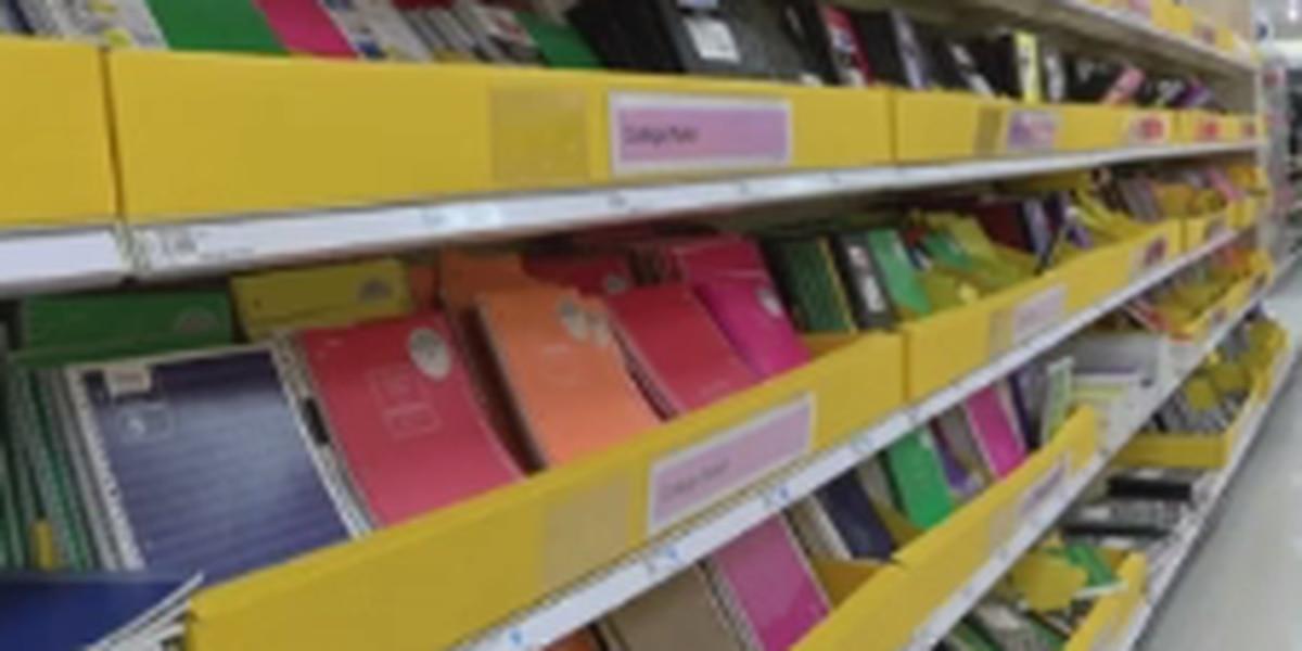 COVID-19 afectando las compras de útiles escolares en el área de Amarillo