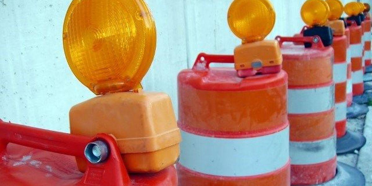 Calle Helium cerrada esta semana debido a trabajo en puentes