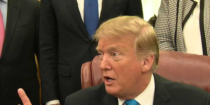 Trump vows veto as Democrats try to block emergency order