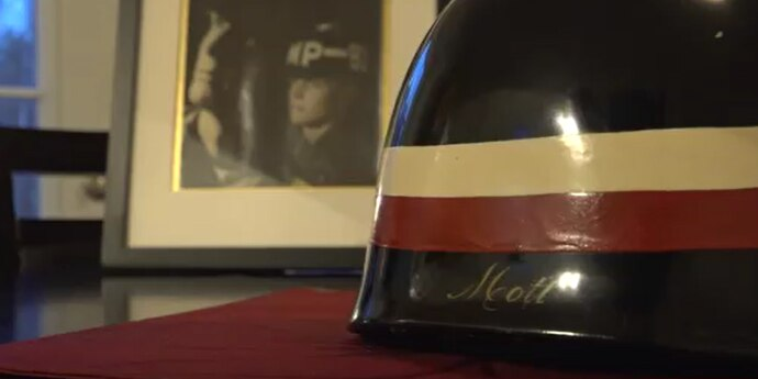 Teen flies to Australia to track down grandpa's Vietnam War helmet missing for 50 years