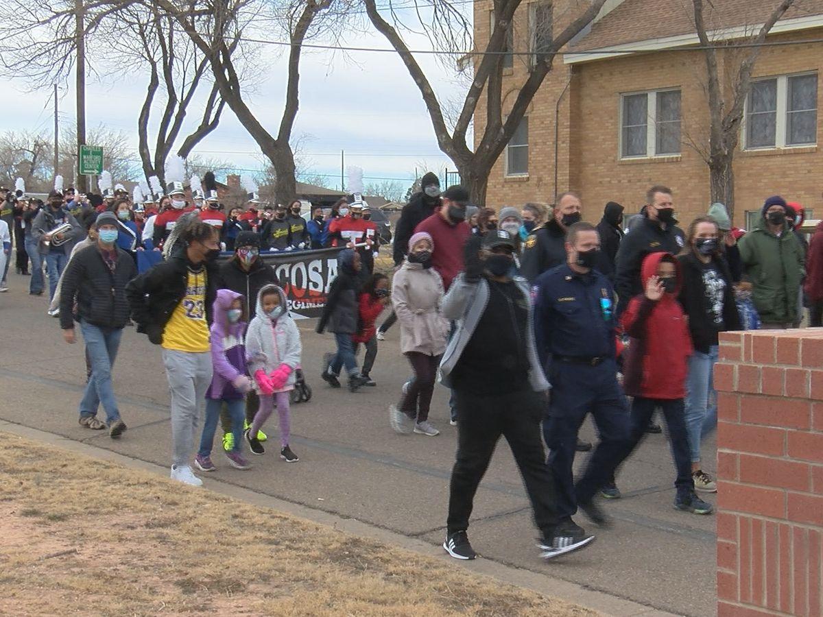 La comunidad de Amarillo celebra y conmemora el Día de MLK de diferentes maneras